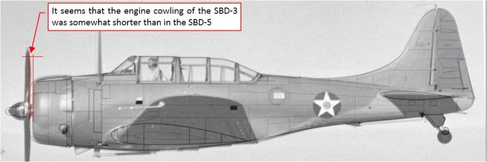 "Figure 4-5 Another ""unwrapped"" photo of the SBD-3"
