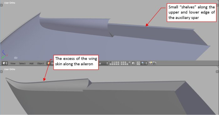 Figure 14-2 Modified wing details