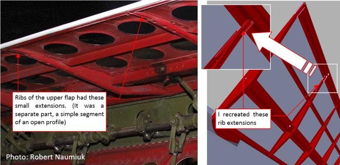 Figure 16-3 Rib extensions