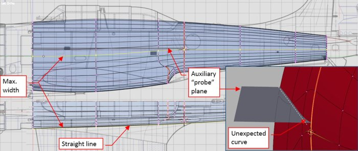 Figure 22-8 Small deformations in the middle of the fuselage
