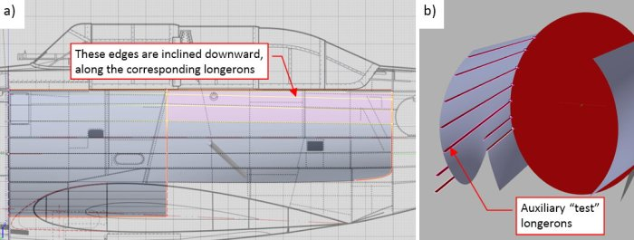 Figure 23-4 Details of the mid-fuselage mesh