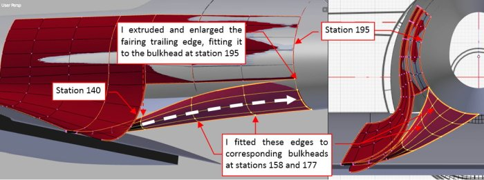 Figure 25-3 Further extrusion of the trailing edge