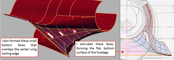 Figure 25-4 Forming the bottom fuselage surface