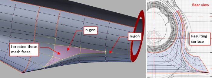 Figure 25-6 Joining the upper and lower surfaces